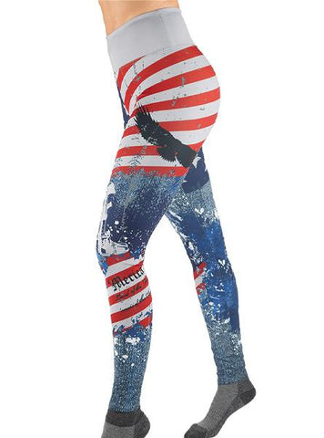 2A 'MERICA LEGGING Women's Performance Gear WSI Sports - Made in USA