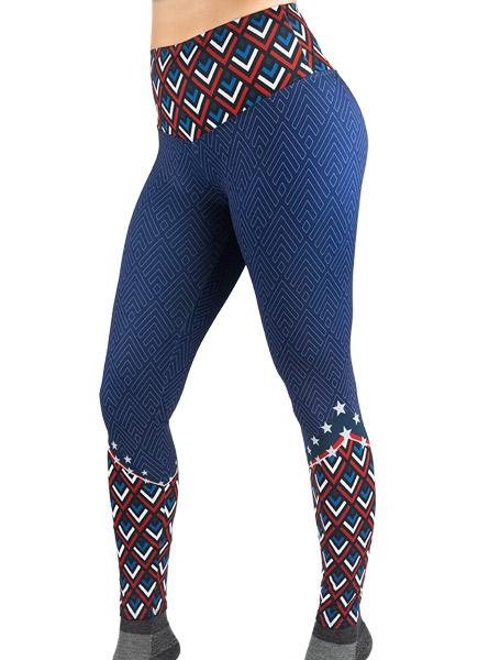 Women's Chevron Freedom Leggings Women's Performance Gear WSI Sportswear