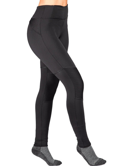 Active HEATR® Pant w/ Pleated Knee HEATR® WSI Sportswear - Made in USA warming cold weather pleated knee pant