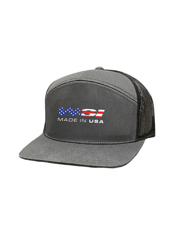 Snapback Flat bill Trucker Hat