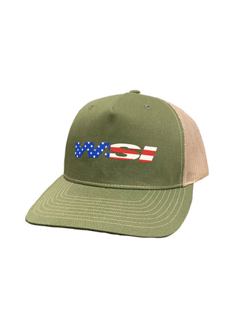 Original Trucker Hat Olive/Tan
