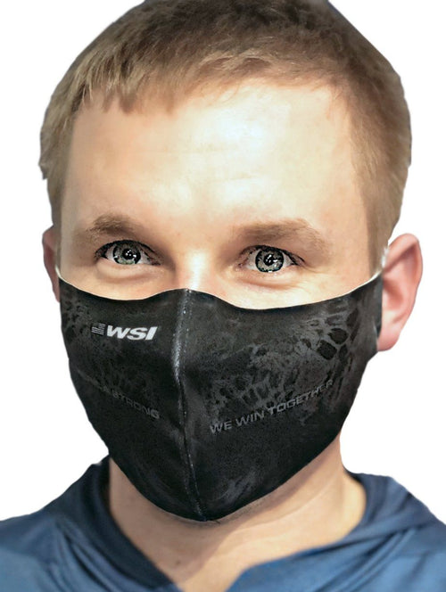 Contoured Protective Mask - Stealth WSI Sportswear