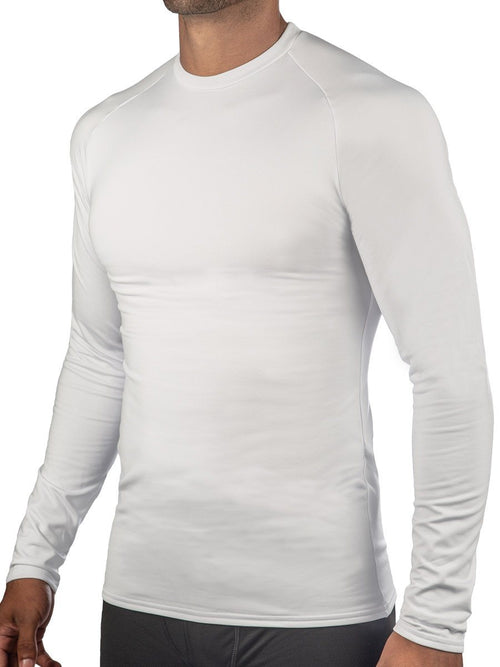 White ProWikMax® Thermal Shirt Men's Performance Gear WSI Sports