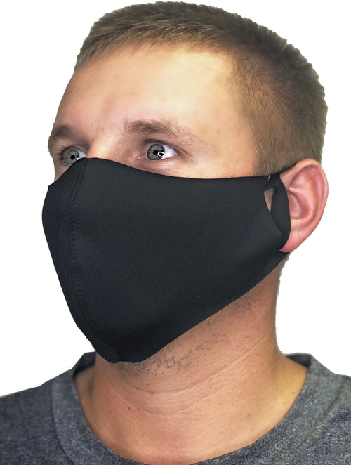 Contoured Protective Mask- Black
