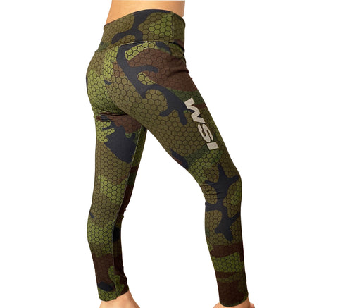 MomMe Kids Hexacamo Legging Women's Performance Gear WSI Sports