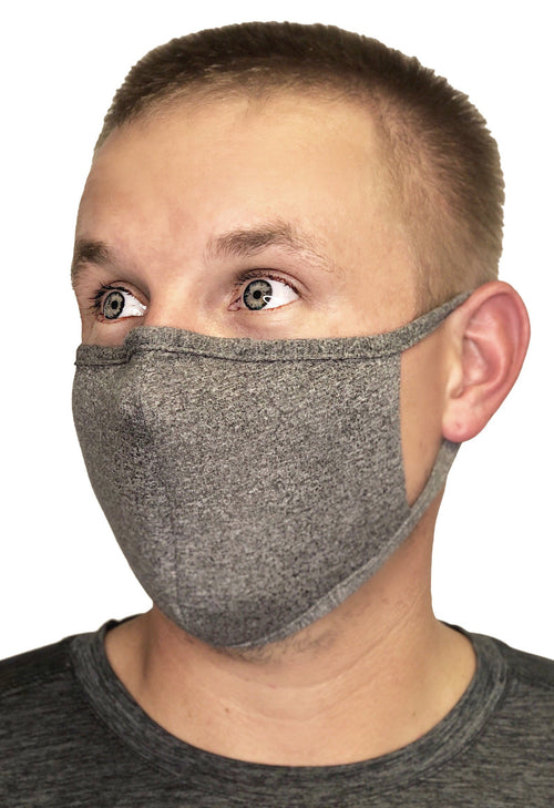 Protective Mask With Contoured Nose Piece