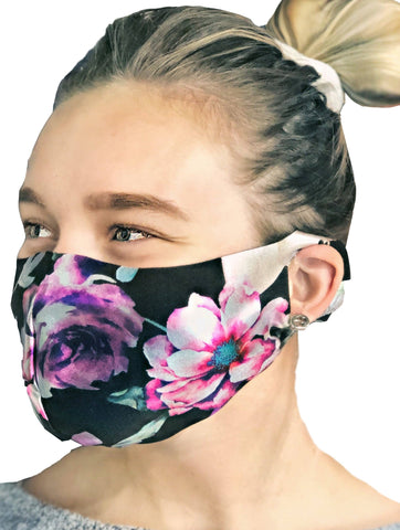 Contoured Protective Mask - Blossom