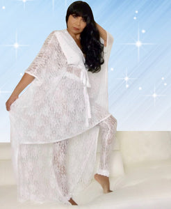 Angelina, Lounging High-Low Caftan