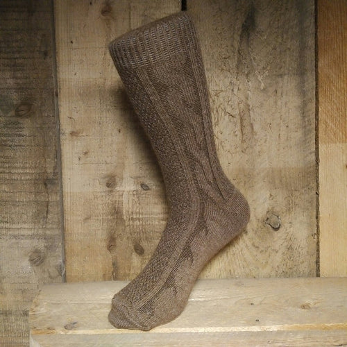 Fashion Cable Socks (M)