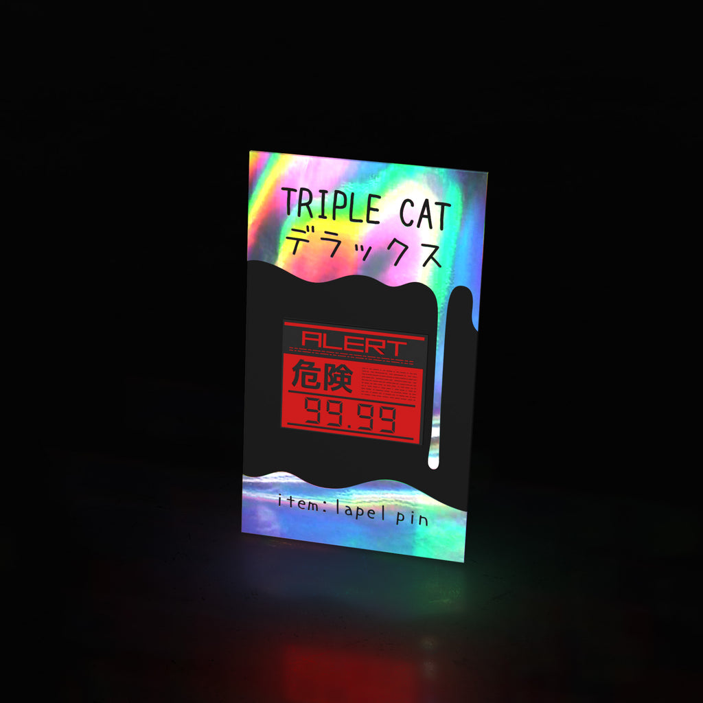 alert phase (pin) - triple cat deluxe