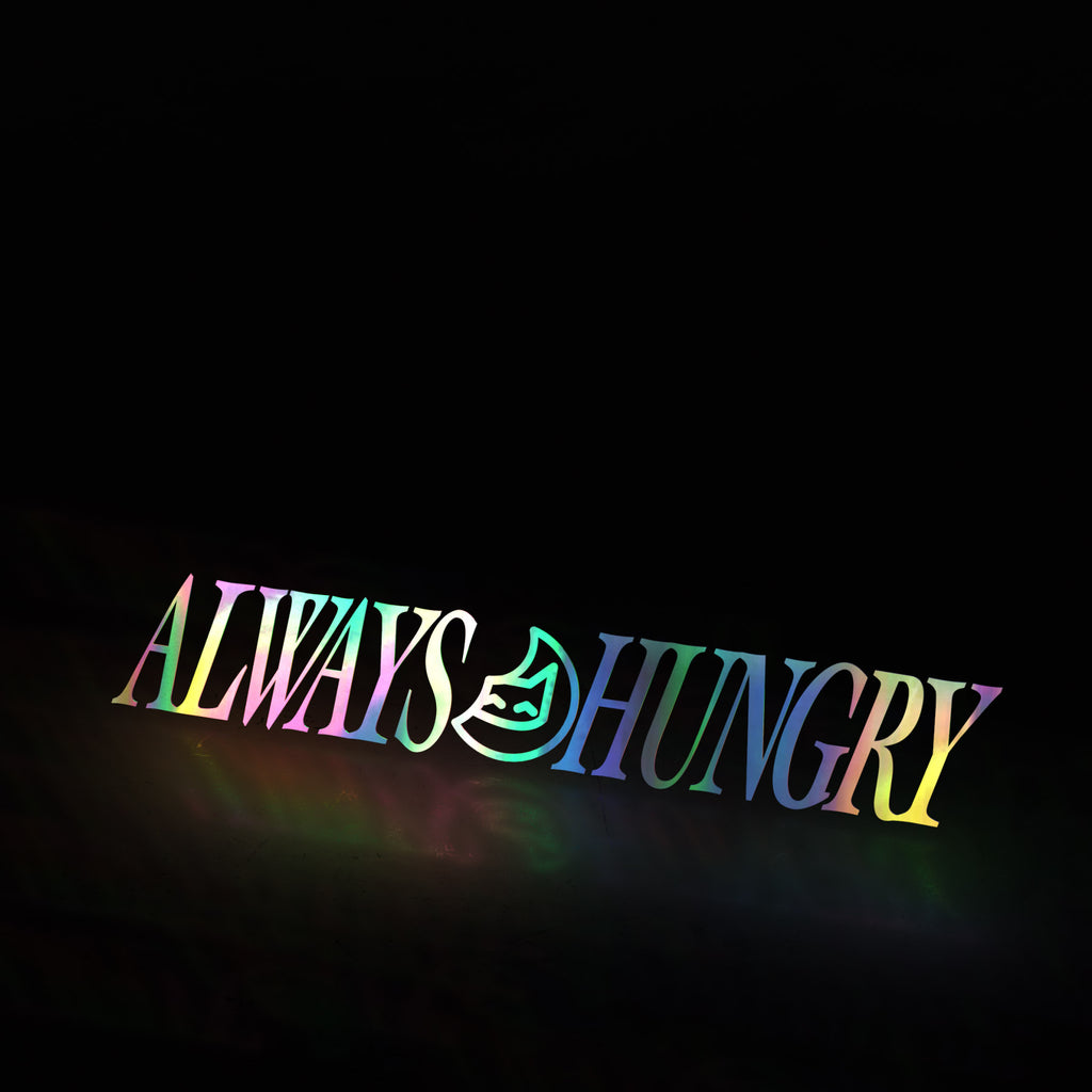 always hungry classic (decal)