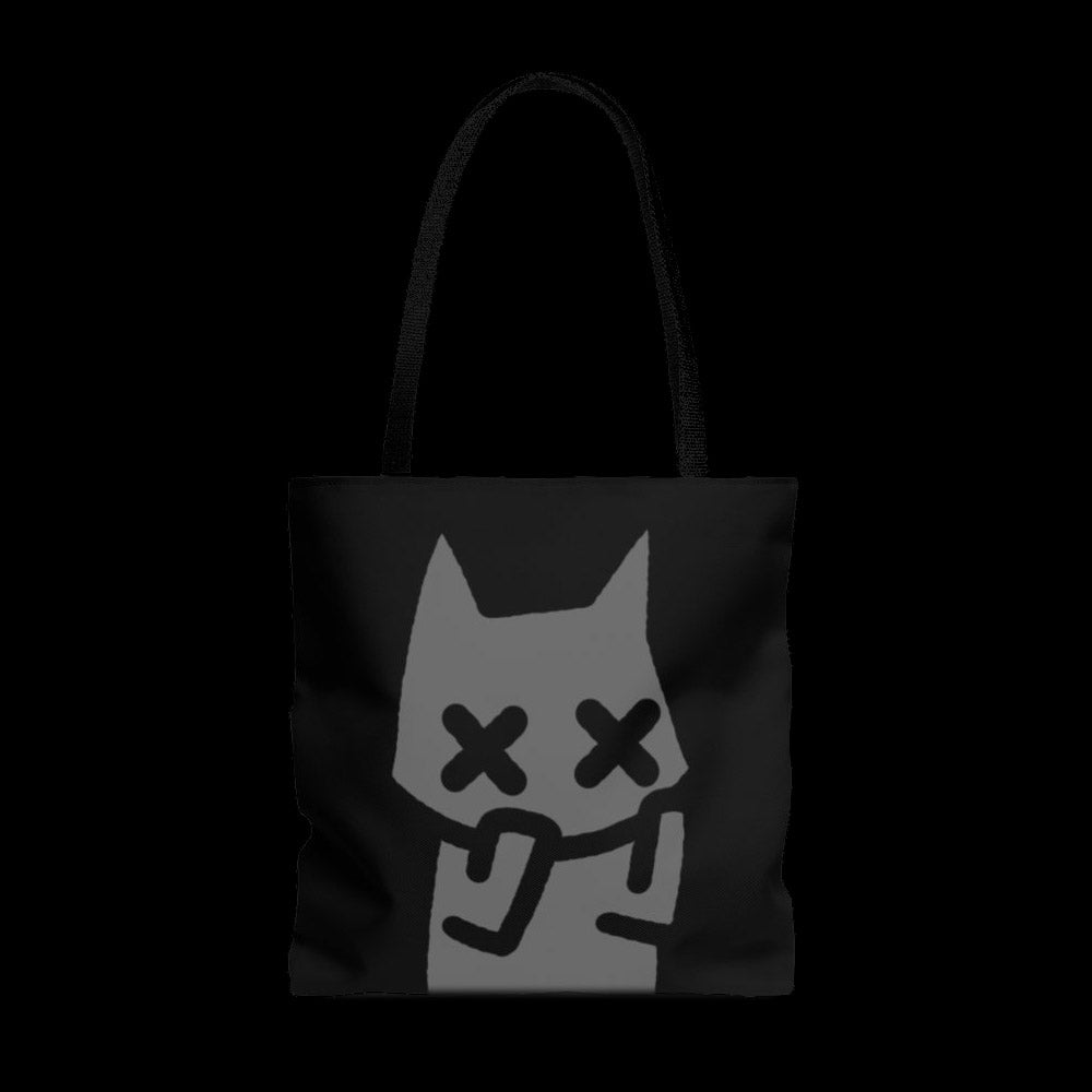 anxiety cat ~ large tote bag ~ preorder
