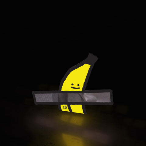 banana art boy (sticker)