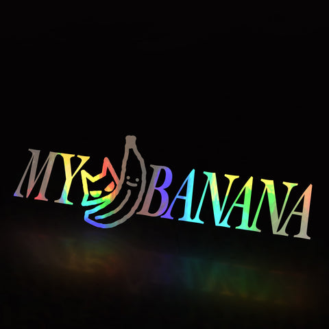 my banana (decal)