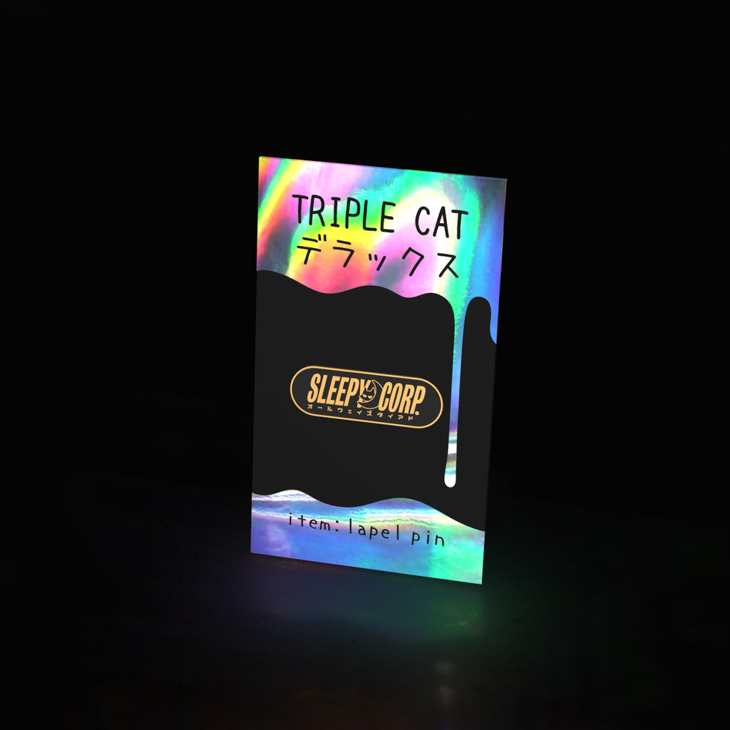 sleepy corp (pin) - triple cat deluxe