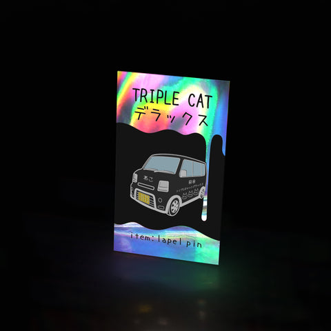 neko bus black (pin) - triple cat deluxe