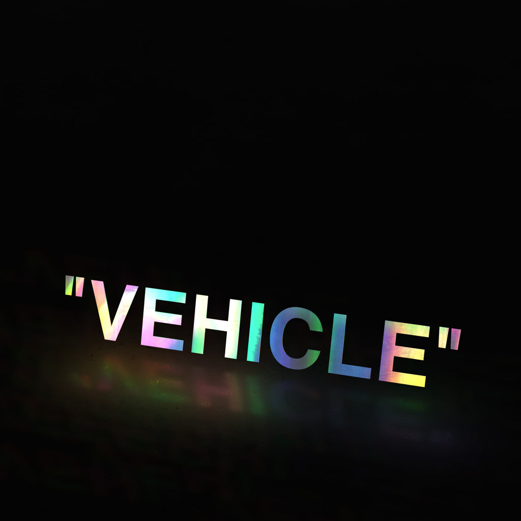 """VEHICLE"" (decal)"
