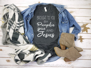 Fall Means Pumpkin Spice Christian T Shirts, of course.