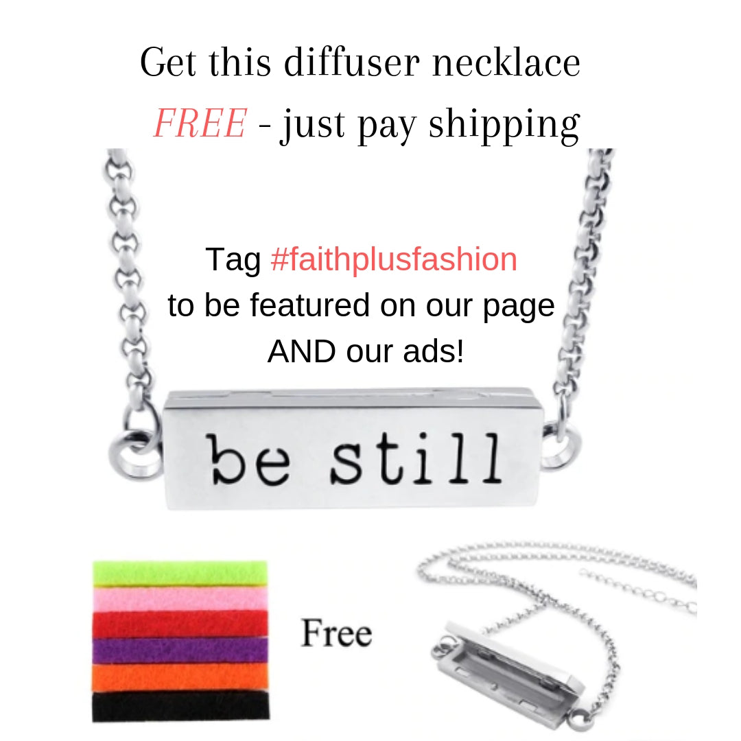 essential oil diffuser necklace - free- plus shipping