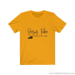 Jesus Tribe Unisex Short Sleeve Tee - Gold / Xs - T-Shirt