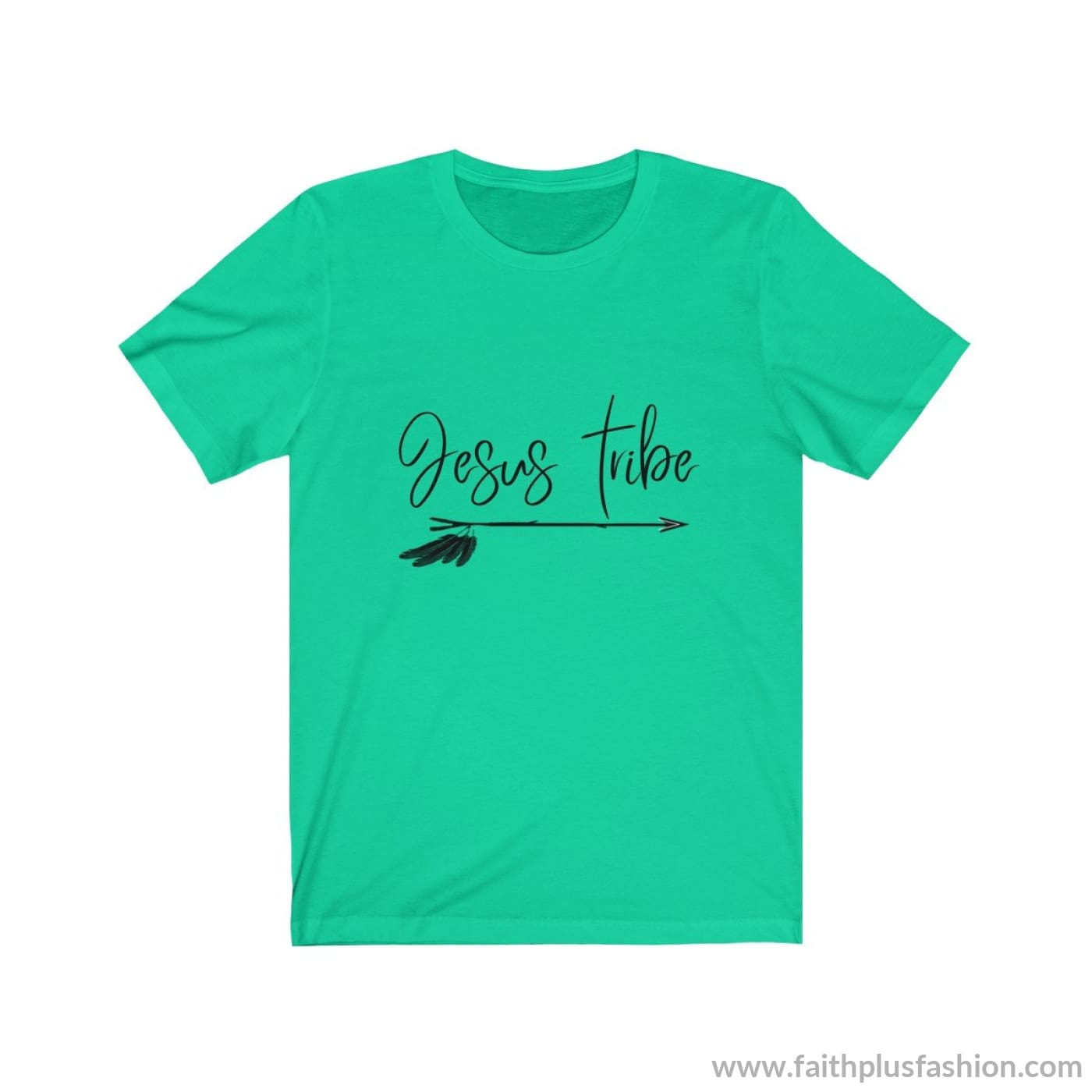 Jesus Tribe Unisex Short Sleeve Tee - Teal / Xs - T-Shirt