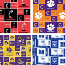 College Team Dog Collars (Alphabetical T- W Choose your Team)