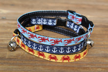 Nautical Cat Collars