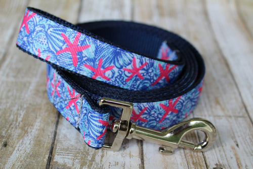 Lilly Inspired Starfish Dog Leash