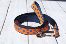 Gator Polka Dot Dog Leash