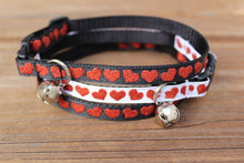 Sparkling Heart Cat Collars