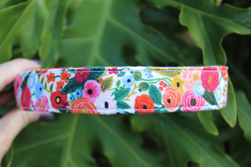 Garden Party Dog Collar