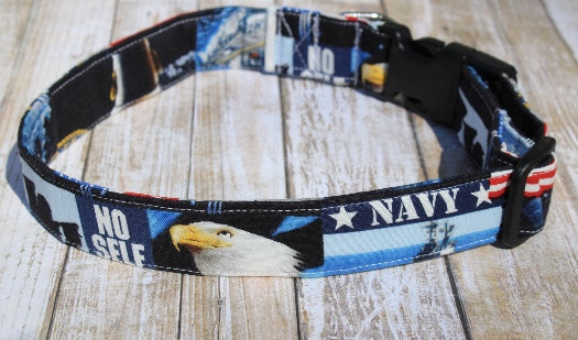 U.S. Navy Dog Collar
