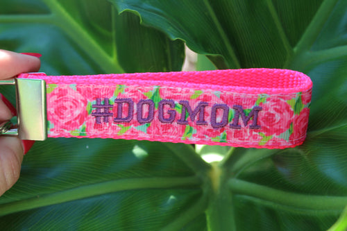 Dog Mom Key Fobs