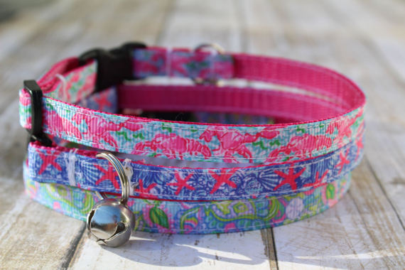 Nautical Lilly Inspired Cat Collars