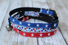 Patriotic Cat Collars