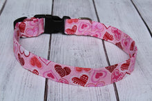 Shining Hearts Dog Collar
