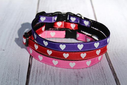 Heart Cat Collars