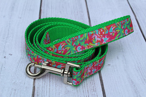 Lilly Inspired Jungle Dog Leash