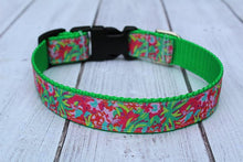 Lilly Inspired Jungle Dog Collar