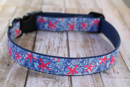 Lilly Inspired Starfish Dog Collar