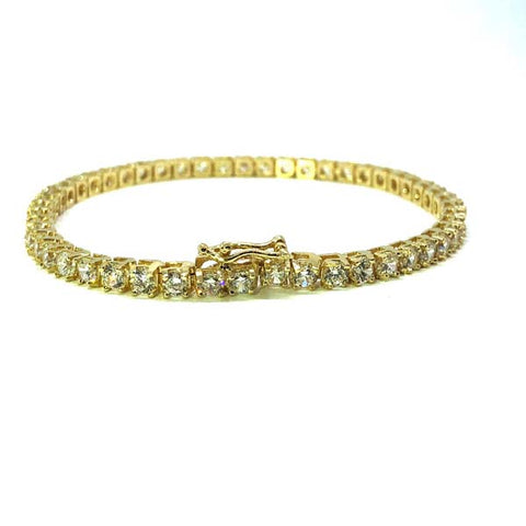 Women Bracelet 10k &  Diamonds