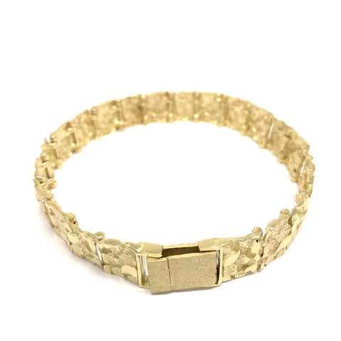 NUGGET BRACELET MEDIUM - WORLDSTARBLING