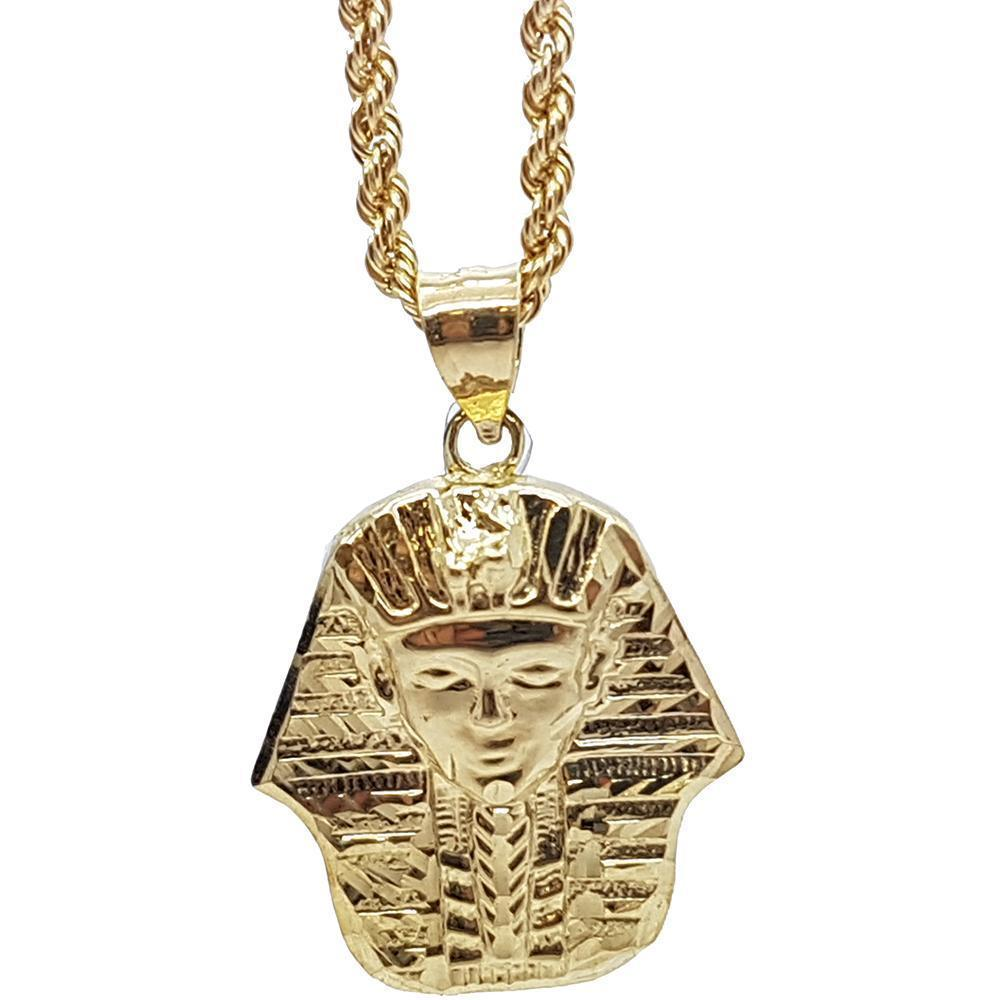 Rope Chain 2.5MM 10K With Ahmose en OR 10K MNG-158 - WORLDSTARBLING