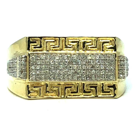 10K Yellow Gold 0.25 CT Diamond Ring DRG-009 - WORLDSTARBLING