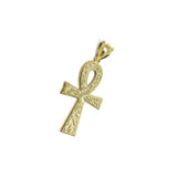 Gold Ankh Cross Pendant in Gold 10 Karat S GAP-017 - WORLDSTARBLING