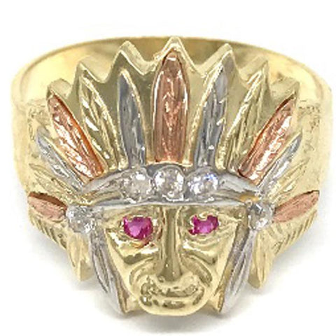 10K Indian Ring GMRA-028 - WORLDSTARBLING