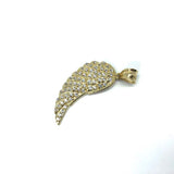 Angel Wing in 10K Gold with Cubic Zircons MPG-368 - WORLDSTARBLING
