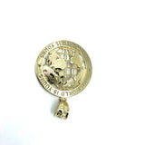 10K Yellow Gold The Wolrd Is Yours Globe Pendant S MPG-370 - WORLDSTARBLING