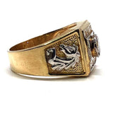 Buy Gold Horse Head Ring
