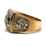 Buy Gold Horse Head Rings Online